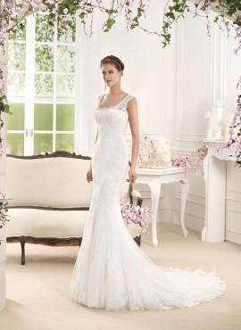 ornella- abito da sposa sirena online 2016 pizzo tulle