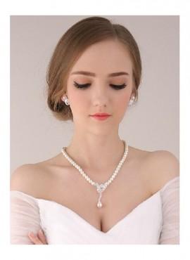 Collana e orecchini sposa online