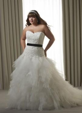 Melba abito da sposa taglie forti online
