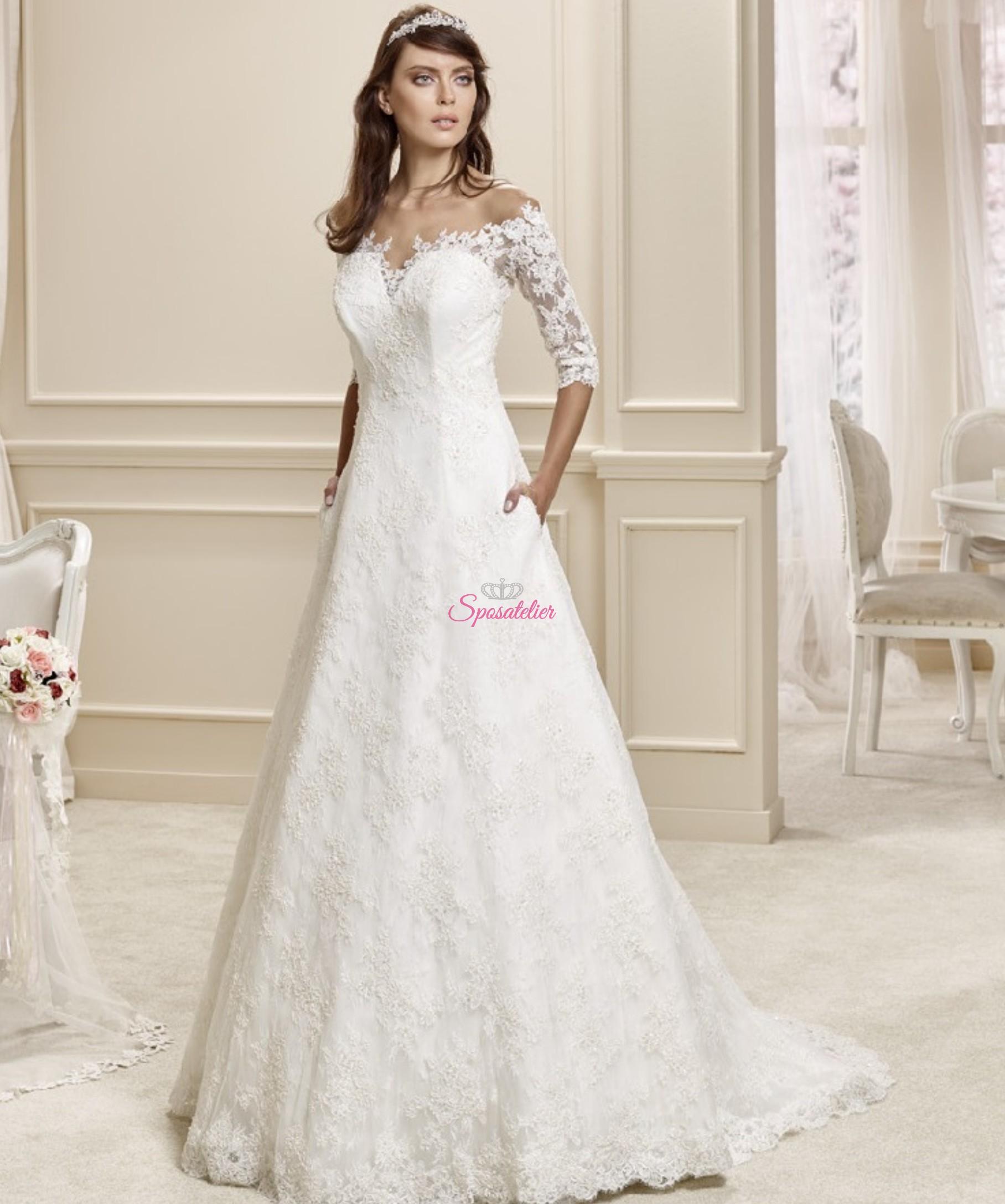 Talya-vendita abiti da sposa online Italia economici Sposatelier