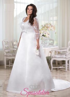 Nellina-vendita abiti da sposa taglie comode online