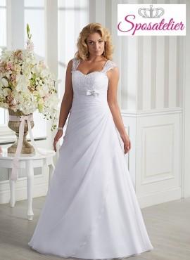 vestiti da sposa taglie extra large economici online  Outlet