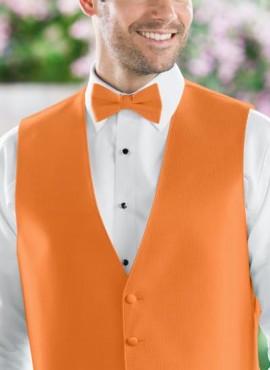Papillon accessori uomo sposo colore arancione