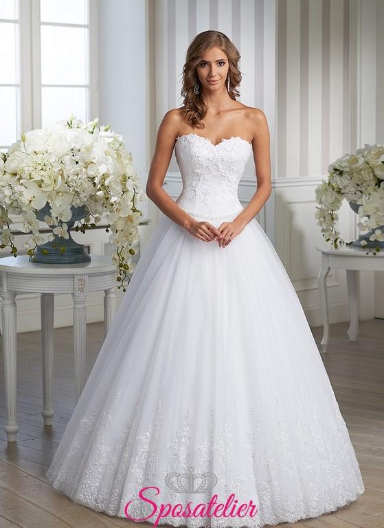 Abiti da sposa ampi in tulle  Blog su abiti da sposa Italia
