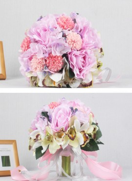 Bouquet da Sposa originale di orchidee e ortensie prezzi bassi