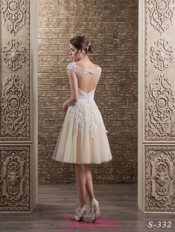 Abito Da Sposa Corto Colorato Pictures to pin on Pinterest