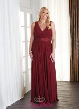abito per la mamma della sposa elegante collezione 2017