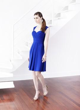 Dulcibella abito corto colore blu saldi online