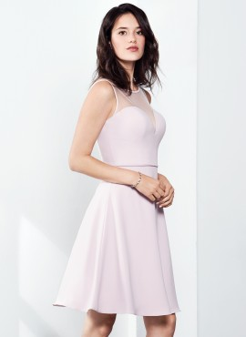 Bonnie short dress pink