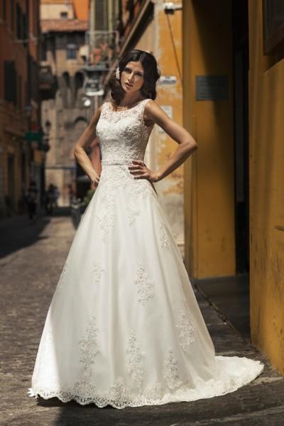 zelda- abito da sposa a-line in organza