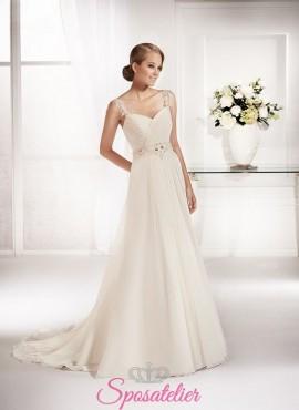 abito da sposa vendita online prezzi bassi tessuti di qualità creato in italia 2017