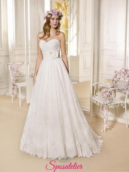 Dolcenera-abito da sposa economico online Italia vendita