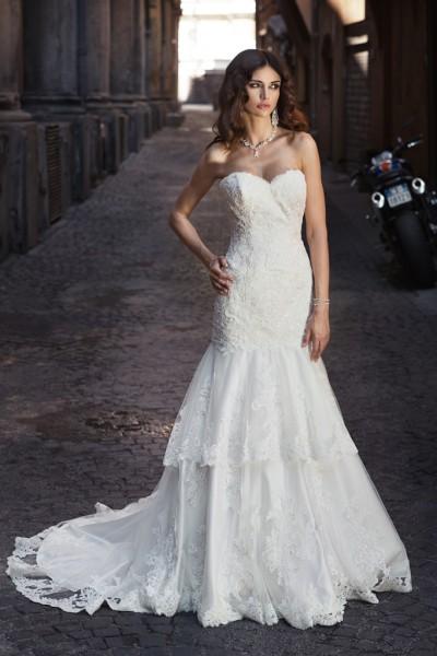 hazel- abiti sposa sirena online