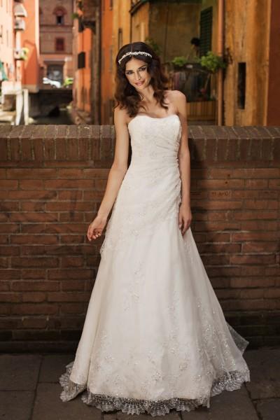 lula- abito da sposa a-line economico