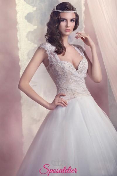 vestito da sposa gonna ampia nuova collezione
