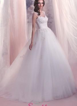abiti da sposa principeschi in pizzo 2017