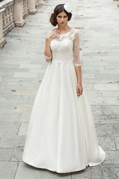 viviana- abito da sposa a-line in organza
