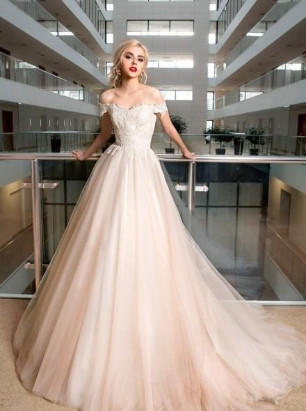 marilla- abito da sposa a-line online  con corpetto aderente