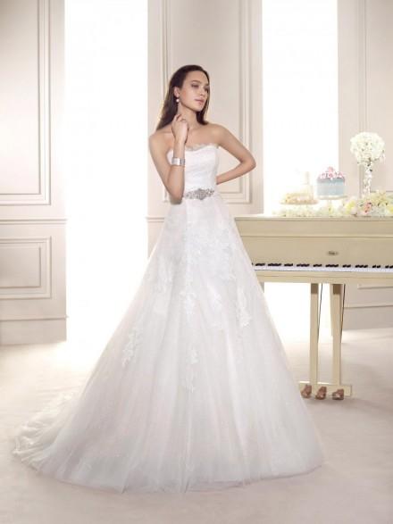 Amelia- abito sposa online italiani vestibilità principessa
