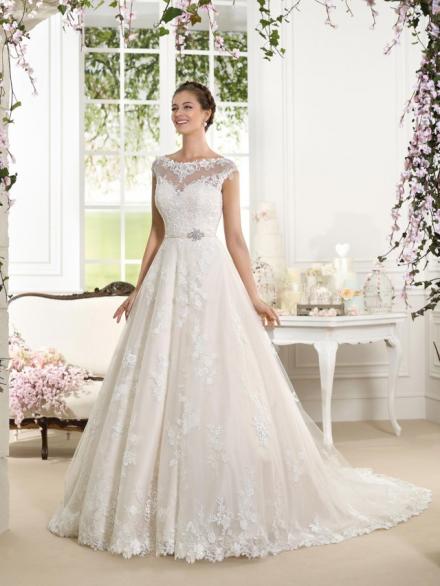 luisa- vestito sposa principessa online tulle  pizzo