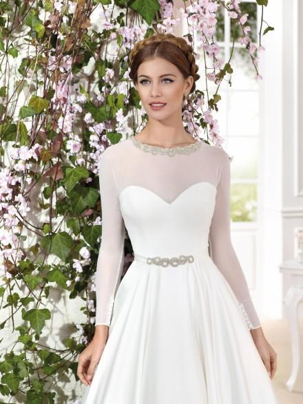 luisiana- vestito da sposa principessa online in tulle organza
