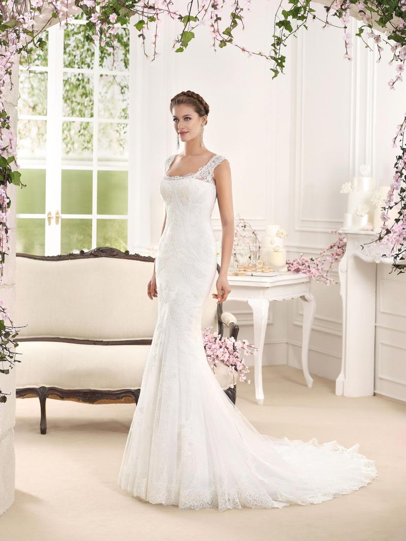 d89aa355cbda ornella- abito da sposa sirena online 2016 pizzo tulleSposatelier