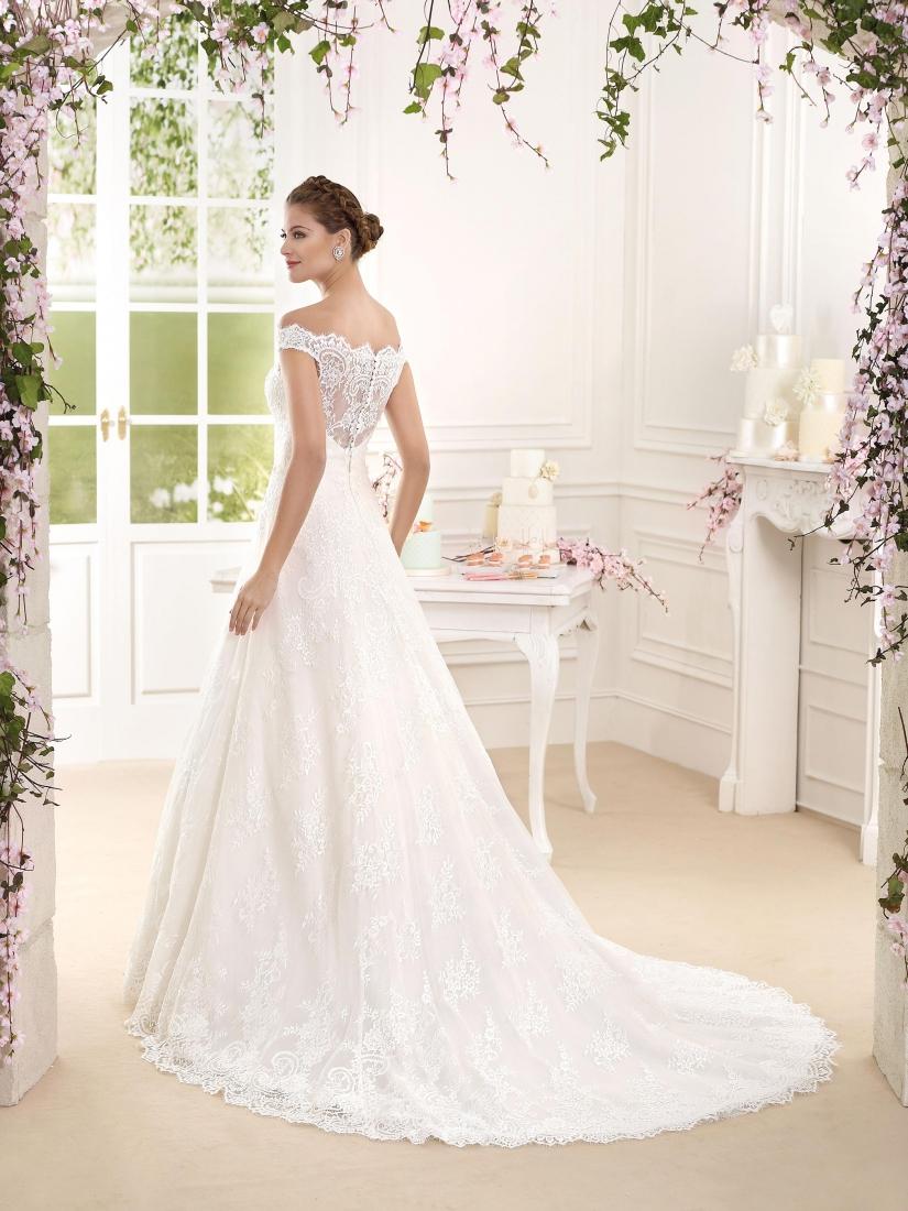 Ben noto ester- vestito da sposa principessa online in organzaSposatelier CQ43