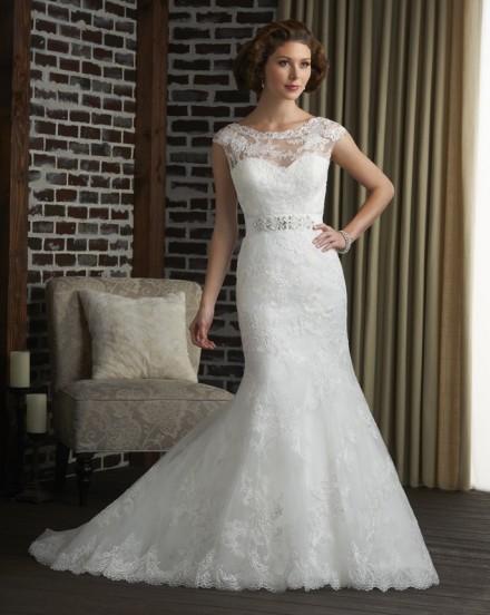 Tecla abito sposa sirena