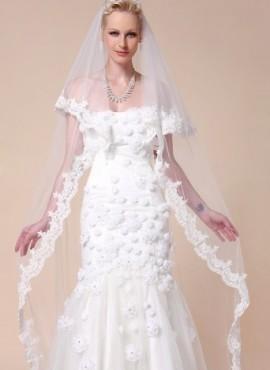 veli matrimonio- velo da sposa economico online in pizzo e tulle