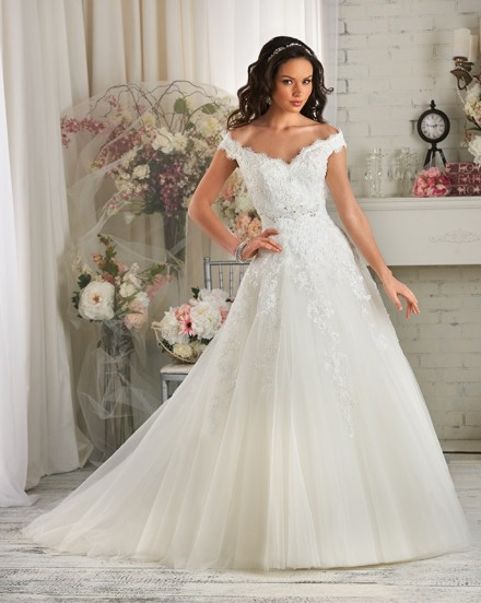 Solange sposa abito