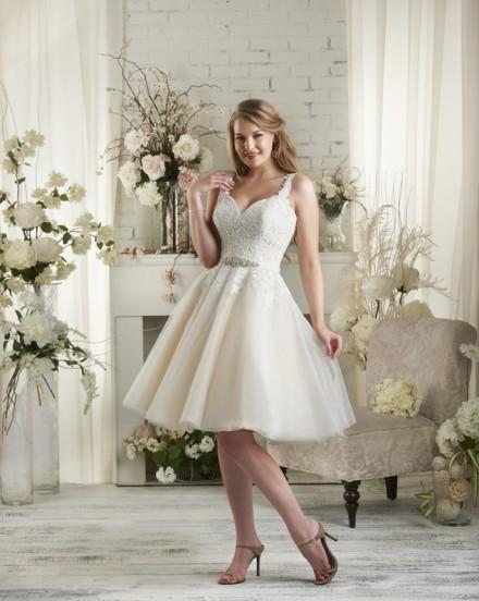 Sibilla abito sposa corto