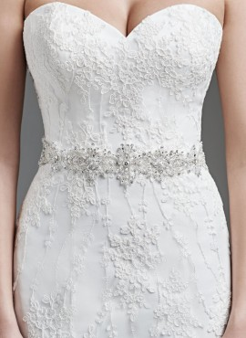 cintura gioiello sposa online con strass