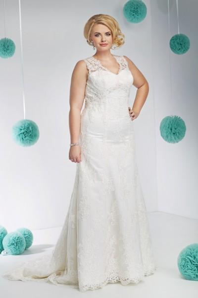 teresa- abito da sposa taglie forti  a-line