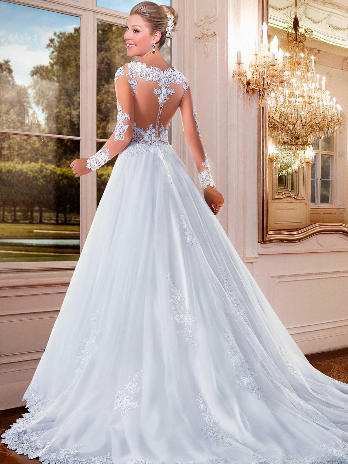140768576d24 Abiti Da Sposa Principessa Con Strass