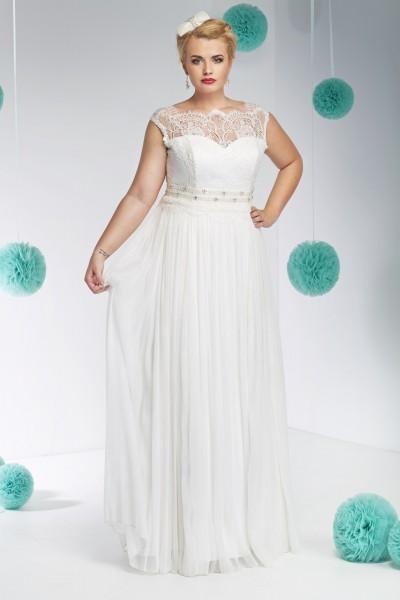 filippa- abito sposa taglie forti modello a-line