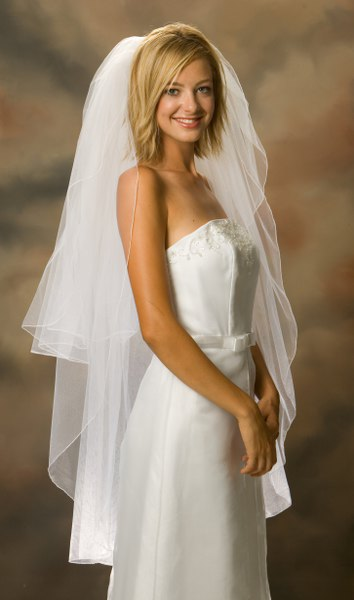 velo sposa online corto