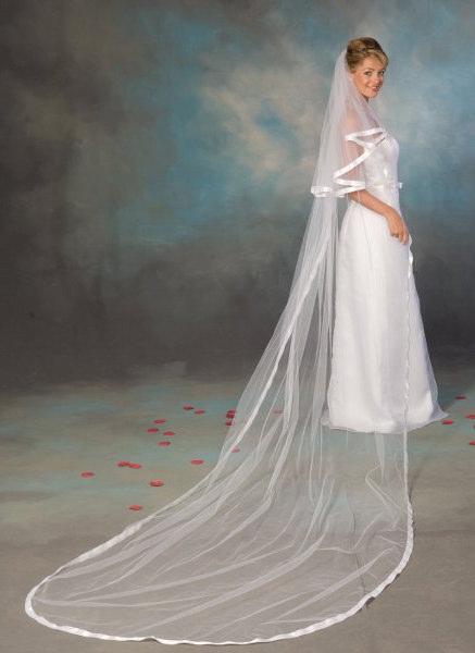 velo sposa online decorato