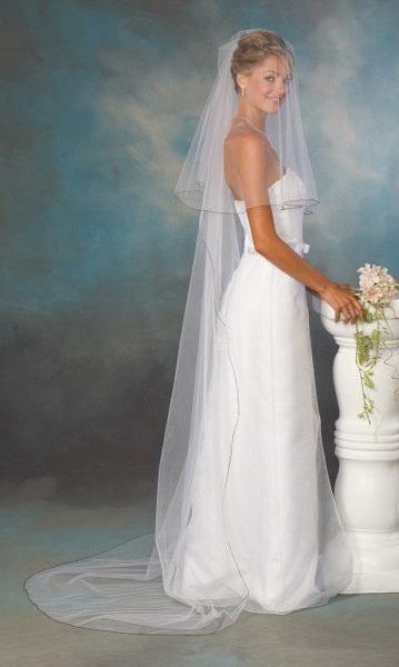 Velo sposa online tulle doppio strato