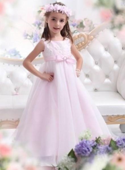 beatrice- abiti damigella bambina 2016 stile a-line elegante