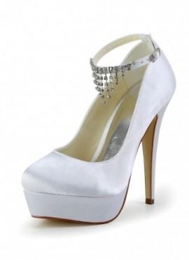 Scarpe Sposa online con plateau chiuse