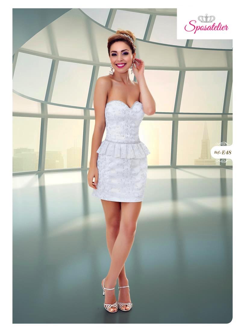 4fcab0fc2182 Jocelin-abiti da cerimonia corti online economiciSposatelier