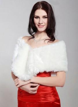 pelliccia abito da sposa invernale online