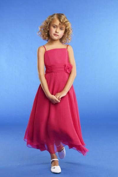Rosilde-abito damigella online lungo