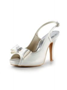 scarpa avorio con tacco