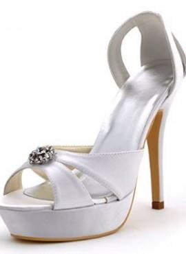 scarpe sposa online modello sandali economici spuntate