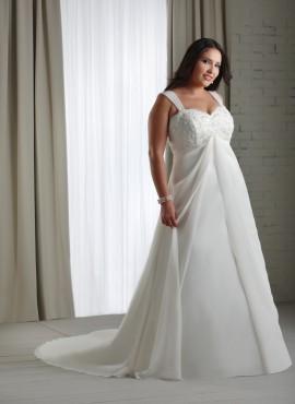 Brooke abito da sposa taglie forti