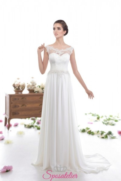 Camilia- abiti da sposa economici online Italia vintage