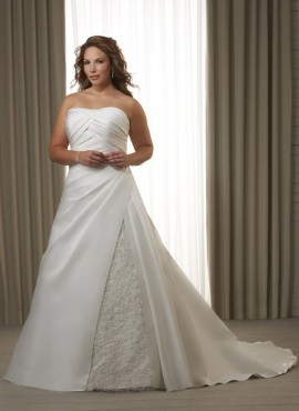Jeanette abito da sposa taglie forti