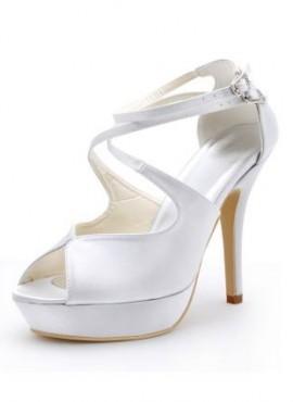 Scarpe da Sposa online economiche con cinturini tacchi alti
