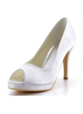 Scarpe da Sposa online spuntate avanti tacco comodo